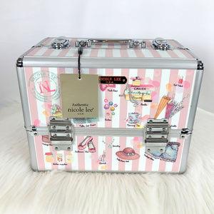 nicole lee Doll House Makeup, Jewelry Travel Box